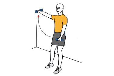 omalgia o dolor de hombro ejercicio 4
