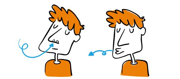 ejercicios fisioterapia respiratoria labios fruncidos